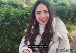 DAFNE BACHELET una chilena Pillada En La Calle por Torbe 10 min