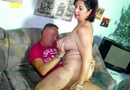 AMATEUR EURO – BBW Wife Liana B. Shoot Her Very First Porn Movie And She Enjoy Every Minute